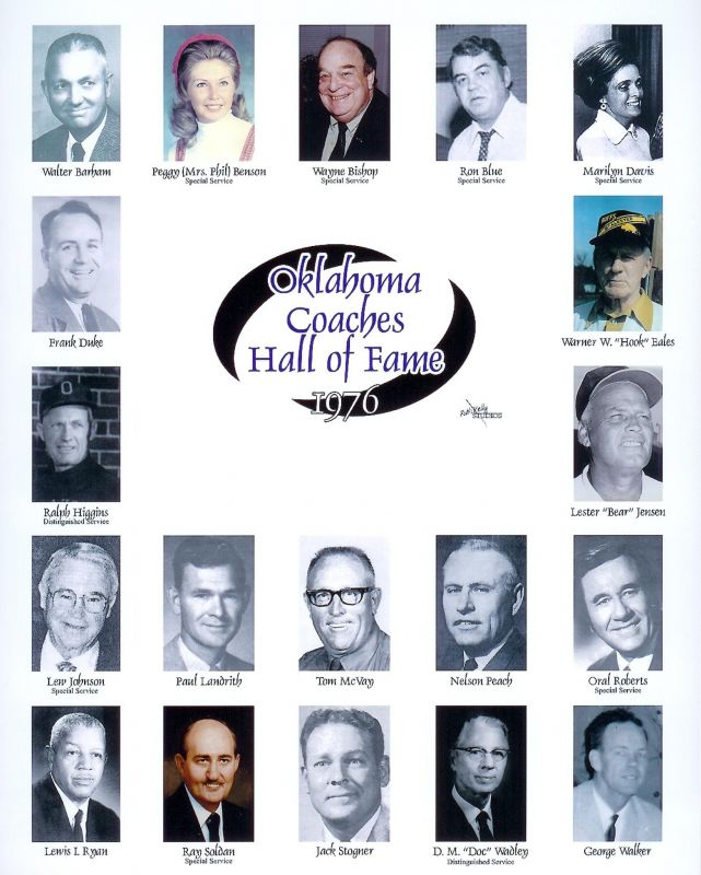Oklahoma Coaches Association :: HOF - Photo Gallery